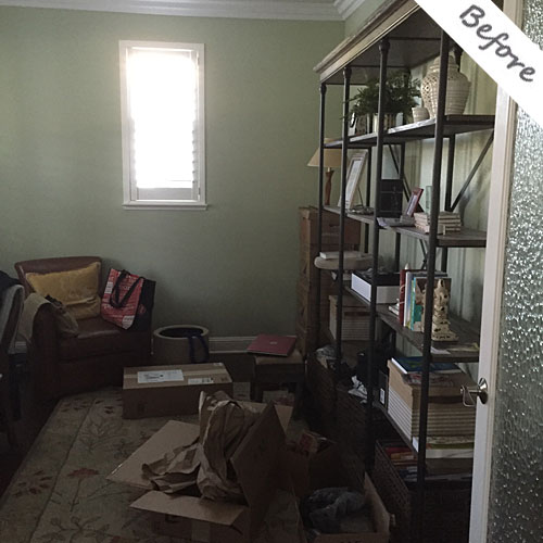 Room Solutions by Paula, before and after